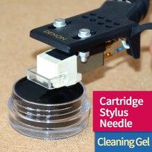 Gel de limpeza anti estático para agulhas, cartucho fonógrafo para limpeza