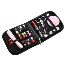 25pcs Travel Thread Portable Case Measure Tape Scissor Sewing Kit DIY Multifunctional Hand Sewing Tools Home Accessories