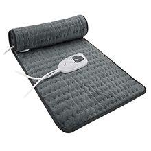 Fisioterapia almofada de aquecimento elétrica cobertor alívio dor relaxar músculo 6-nível terapia de calor elétrica para pescoço abdômen # g30