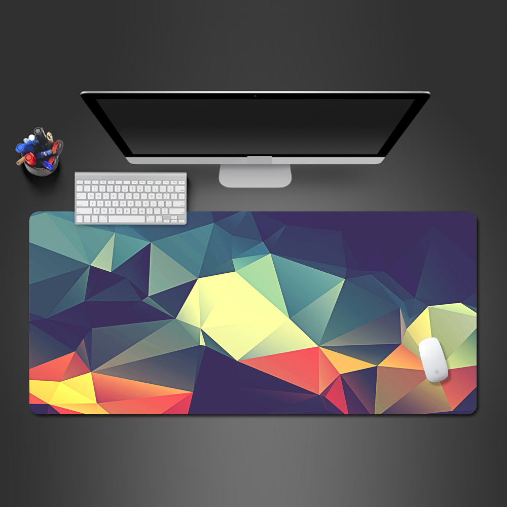 Dazzle Color Is Beautiful  Mouse Pad Stereo Art Mousepad Fashion Computer Desktop Pad High - Quality Large Game Mats
