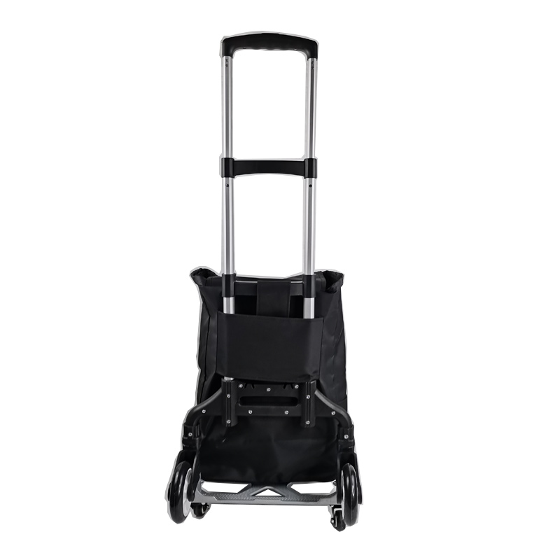 Aluminum Trolley with 2 Large Wheels and 4 Auxiliary Wheels 132 Pounds Capacity