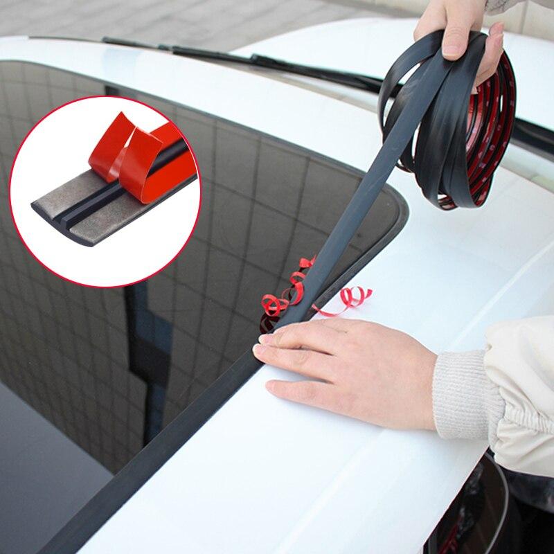 Резиновая уплотнительная лента на лобовое стекло автомобиля для Volkswagen Polo Passat B6 BMW F10 F30 E60 Ford Focus 2 3 Fiesta