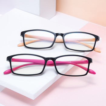 DENISA okulary blokujące niebieskie światło komputerów niebieskie światło blokujące okulary komputerowe ramka do okularów okulary do gier luneta Lumiere Bleue S811 tanie i dobre opinie Poliwęglan Plastikowe tytanu 53mm 31mm