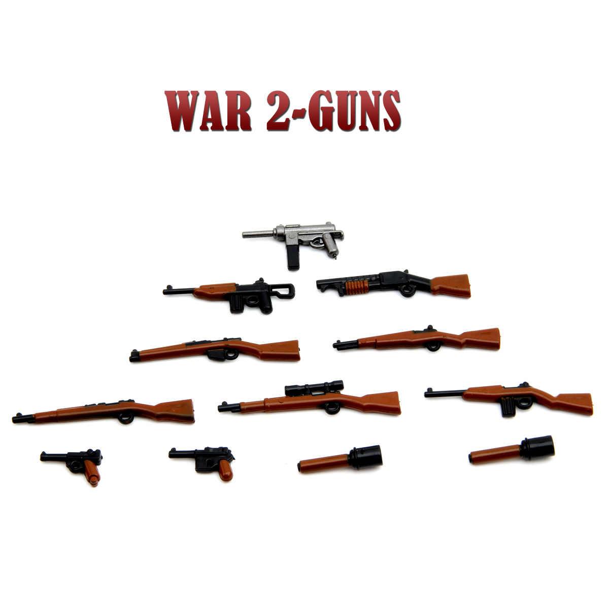 Geely Kostüm Militärischen Krieg Armee City Polizei Pistolen Waffen Pack Soldaten SWAT Bausteine Kinder spielzeug für kinder