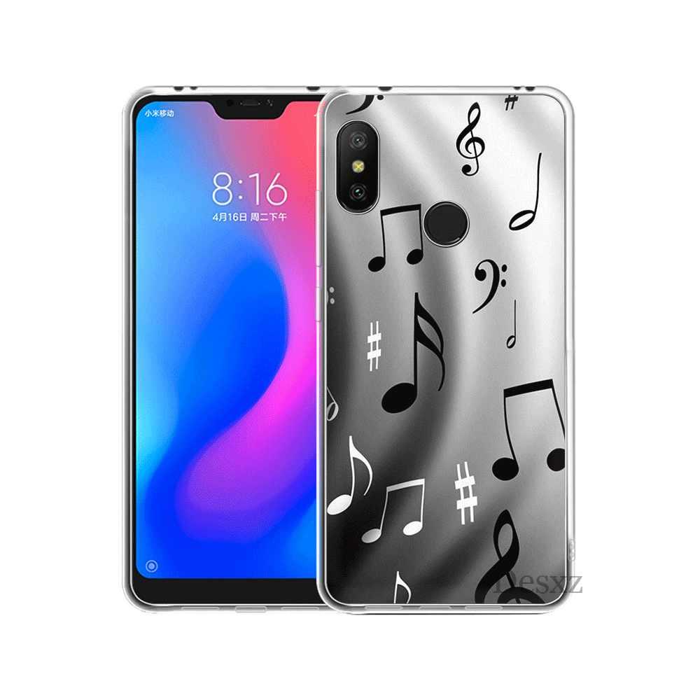 Telefon komórkowy obudowa do Xiaomi Redmi Note 6 7 Pro 5A 4 4X3 5 twarda okładka uwielbiam stare muzyki musical uwaga