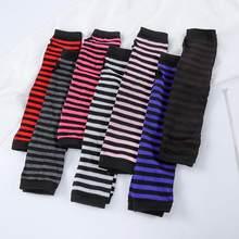 1 paire de gants tricotés pour femmes, doux et élastique, sans doigts, demi-doigts, chauds, longs, hiver