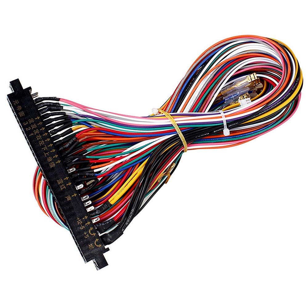 28Pin Аркада JAMMA провода жгута 5/12V проводов для Pandora игровых приставок, аркадные игры JAMMA шкаф жгута проводов