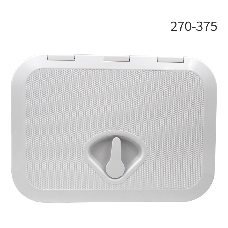 270*375mm ABS Plastic Anti Aging Ultraviolet White Deck Marine <font><b>Hatch</b></font> Deck Access <font><b>Hatch</b></font> <font><b>Boat</b></font> <font><b>Hatches</b></font> Inspection Yacht Cover RV image