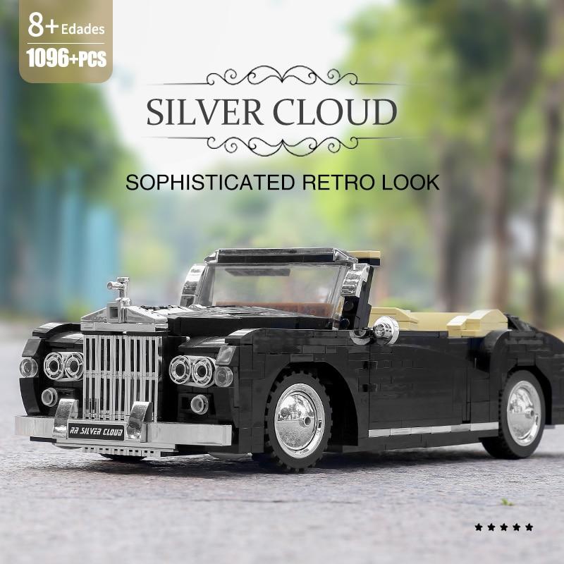 MOULD KING 10006 The MOC 1964 RR Sliver Cloud Car
