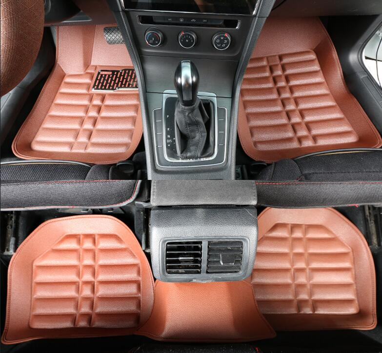Car Believe Auto car floor Foot mat For <font><b>jeep</b></font> grand cherokee 2014 <font><b>compass</b></font> <font><b>2018</b></font> commander renegade waterproof car <font><b>accessories</b></font> image