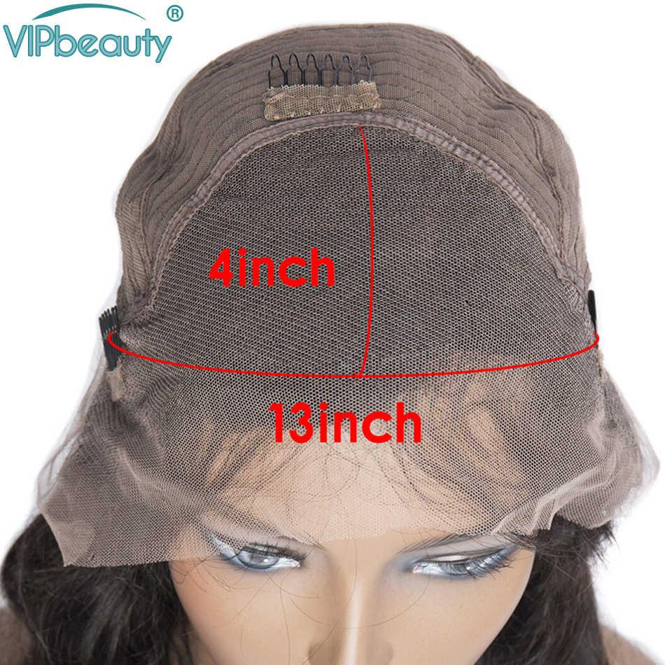 13х4 синтетические волосы на фронте, волнистые волосы Реми, Короткие парики из человеческих волос 150%