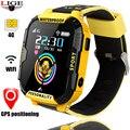 LIGE 4G videophone das crianças relógio GPS + LBS + WI-FI smart watch com pedômetro sono monitoramento câmera de reprodução de música função
