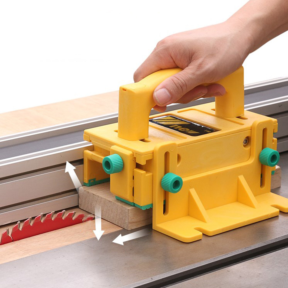3D Safety Woodworking Push Handle Table Saw Pushblock Easy Feeder For Table Saw Router Table Jointer Milling Cut Pusher Pusher