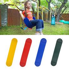 Kids EVA Swing Plate Children Adjustable Indoor Outdoor Rope Garden Swing Hanging Seat Family Recreation Fun Sports Toys cheap 201914370 Outdoor Furniture 0 7cm 67*14cm