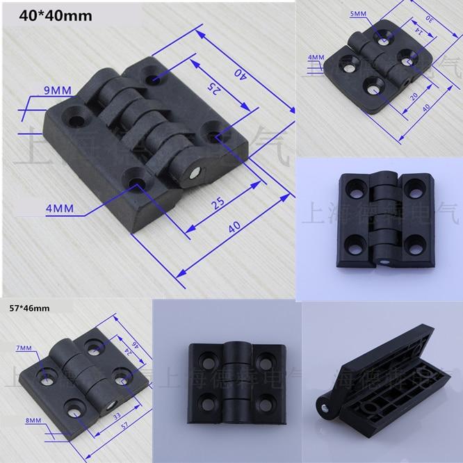 10Pcs Corrosion Resistant Hinges Home Cabinet Box Furniture Convenient Install