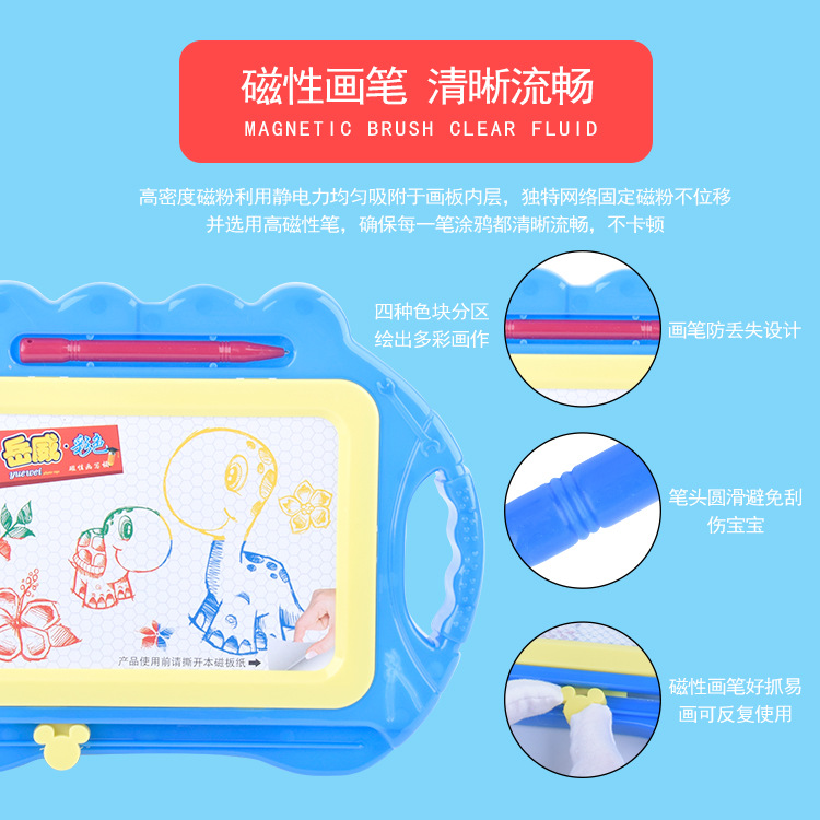 Funny Small Color Magnetic Drawing Board Children Magnetic Drawing Board Graffiti Writing Board Early Childhood Educational Toy