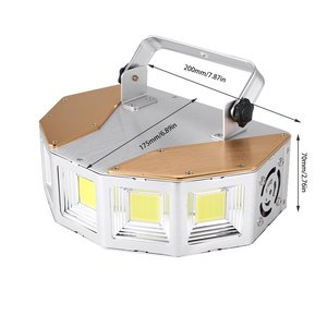 Image 4 - マルチアングル大ストロボリモート制御照明バーktvのための社交呼吸ランプライト放射線ストロボフラッシュランプ