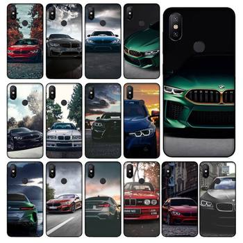 Blue Red Car For Bmw Phone Case For Xiaomi 6X 8 8Lite 9T 10 10Lite Note 8 8T 9Pro 9Promax Case image