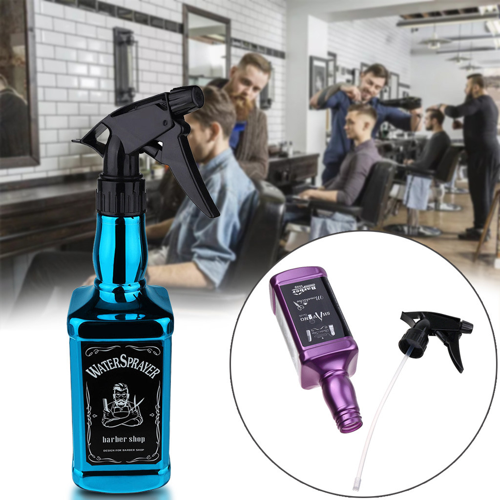 Спрей для волос 500 мл, блестящий спрей для парикмахерских, инструменты для парикмахерской, распылитель воды для укладки волос