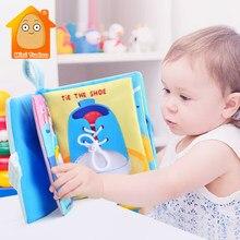 Livre d'activités en tissu à pliage doux pour le développement de la cognition du nourrisson, livre d'activités en tissu silencieux, bonne nuit pour bébé