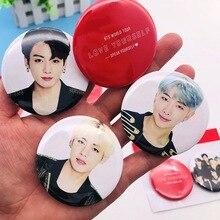Kpop значок Bangtan мальчики любят себя круглый значок набор брошь значок список