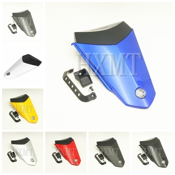 Blue Motorcycle Pillion Rear Seat Cover Cowl Solo Seat Cowl Rear Fairing For Yamaha YZF 1000 R1 2015 2016 2017 2018 2019 2020 new motorcycle rear seat cover cowl solo fairing for honda cbr 1000 rr 04 05 06 07 2004 2007 free shipping c20