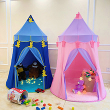 Детская палатка, Крытый игровой домик для мальчиков и девочек, детский Замок принцессы, маленький домик, игрушечный домик, кровать, полезный продукт