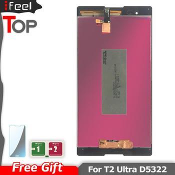 6,0 ''Nuevo LCD para SONY Xperia T2 Ultra D5303 D5322 D5306 XM50h LCD pantalla táctil para SONY Xperia T2 Ultra LCD