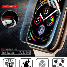 Screen Protector Clear Full Protective Film for iWatch 4 5 6 SE 40MM 44MM Not Tempered