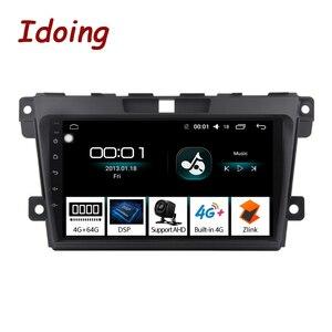 Image 1 - Idoing 2.5d ips tela do carro android rádio leitor de vídeo multimídia para MazdaCX 7 cx 7 cx7 4g + 64g navegação gps não 2 din dvd 4g