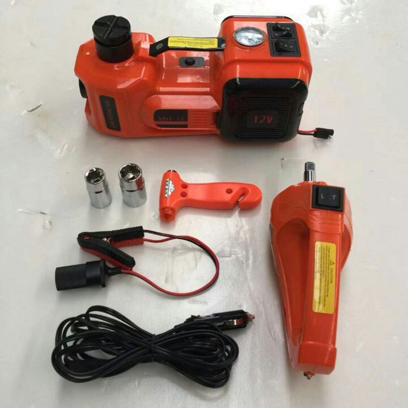 Electrical Jack Car Electric Jack Electrical Jack with Air Pump 5T Jack Electric Wrench Set