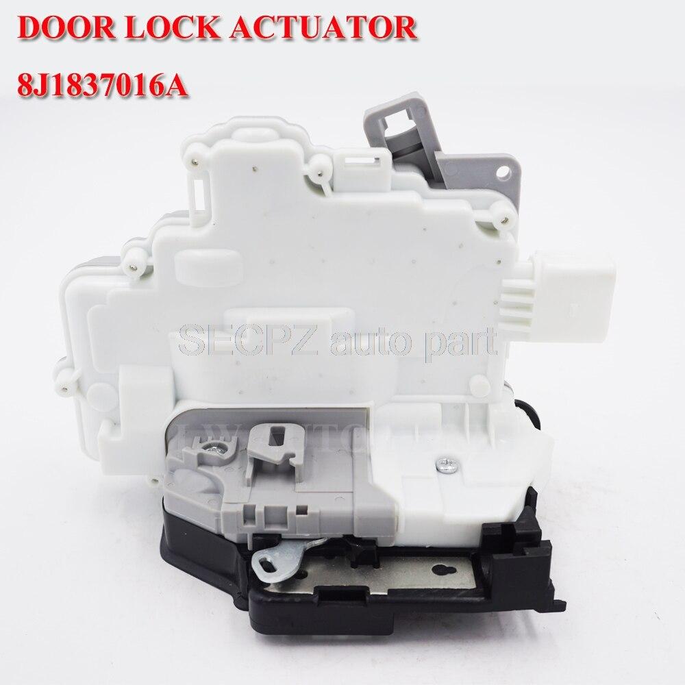 OE 8J1837016A 3C1837016A передний правый центральный привод защелки дверного замка 3C1837016B для VW PASSAT B6 SKODA SUPERB A4 A5 Q5 Q7 TT