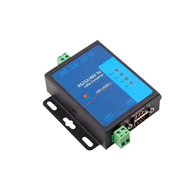 Lora Modul Drahtlose Daten Übertragung Radio 433mHz Punkt zu punkt 232/485 Serial Port USR LG206 L P