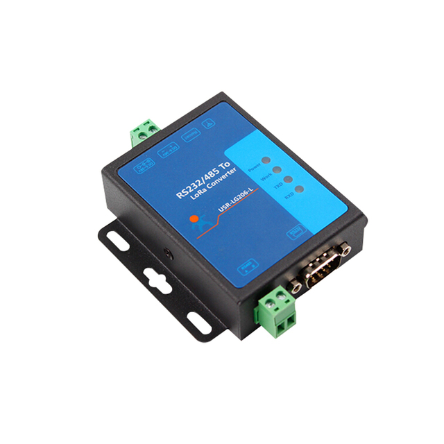 Lora Module Wireless Data Transmission Radio 433mHz Point to point 232/485 Serial Port USR LG206 L P