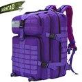 50л 3P Тактический Рюкзак Военная армейская уличная сумка рюкзак мужской походный тактический рюкзак походный спортивный Molle пакет сумки для...