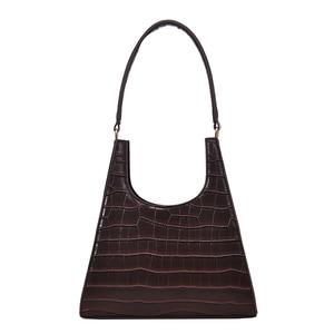 Image 5 - Timsah desen Retro omuz çantaları kadınlar için 2020 lüks çanta kadın çanta tasarımcısı PU deri eski bayan zarif kılıf