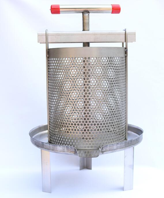 56*24CM Stainless Steel Honey Press Small Household Press Sugar Press Earth Honey Mesh Press Juice Sugar D008
