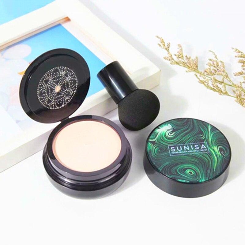 Sunisa pilz kopf Air Kissen CC Creme Feuchtigkeits Fundament Air-durchlässigen Erhellen Concealer make-up creme kosmetik