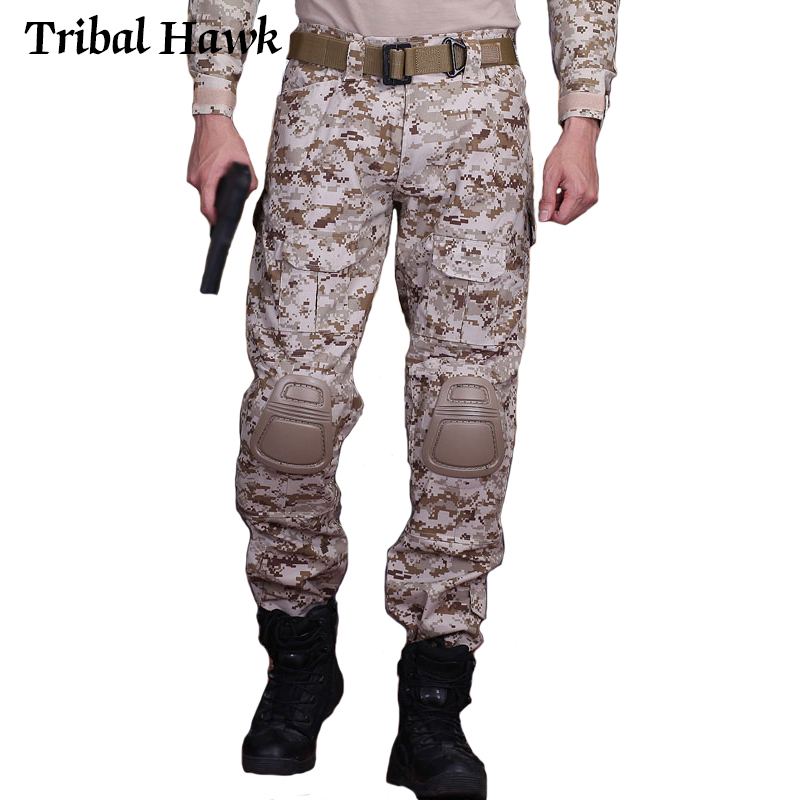 Mens Fashion Military Army Combat Trouser Tactical Airsoft Work Camo Pant Cargo