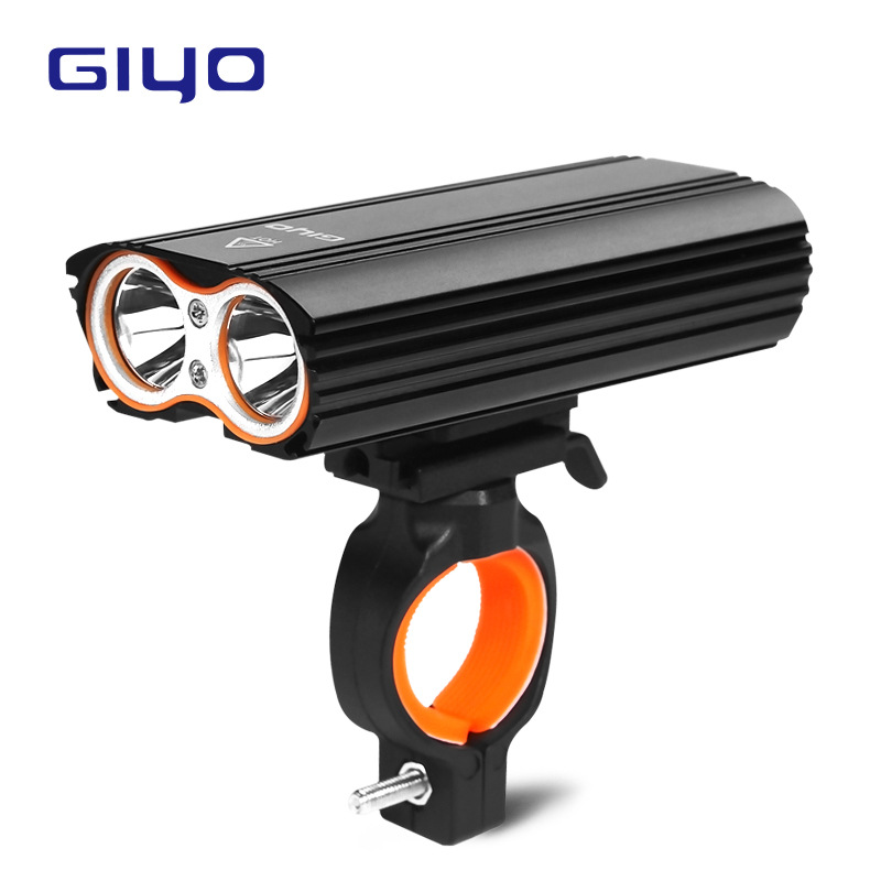 GIYO <font><b>Bicycle</b></font> Bike Light Front 2400Lm Headlight 2 Battery T6 Leds <font><b>Bicycle</b></font> Light Cycling Lamp Lantern <font><b>Flashlight</b></font> <font><b>For</b></font> <font><b>Bicycle</b></font> Bike image