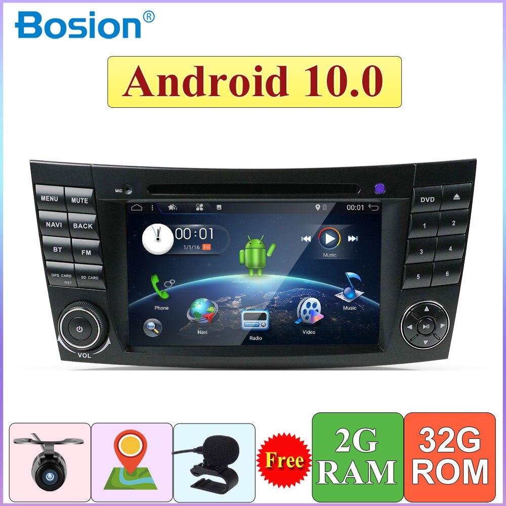Autoradio نظام تحديد المواقع نافي سيارة مشغل وسائط متعددة لمرسيدس بنز الفئة E W211 E200 E220 E300 E350 E240 E270 E280 CLS الفئة W219