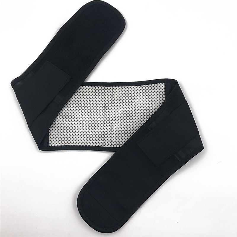 Image 5 - Cintura ajustável turmalina auto aquecimento terapia magnética  volta cinto de apoio cintura cinta lombar massagem banda cuidados de  saúdeSuportes