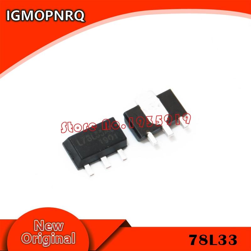10PCS SOT-89  78L06 78L08  78L33 New And Original In Stock