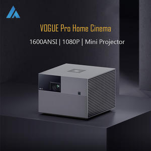 Home Theater Projector Fengmi Vogue DLP Full-Hd 1080P LED Bluetooth ANSI 1600 Voice-Recognition