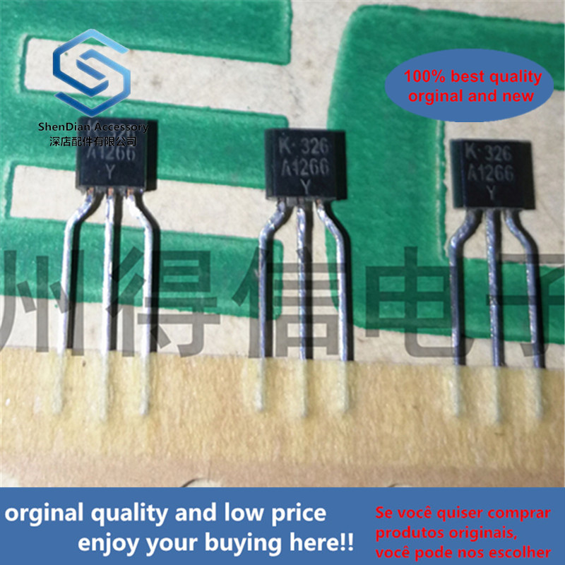 50pcs 100% Orginal New KTA1266Y A1266 Copper Feet To-92 Real Photo
