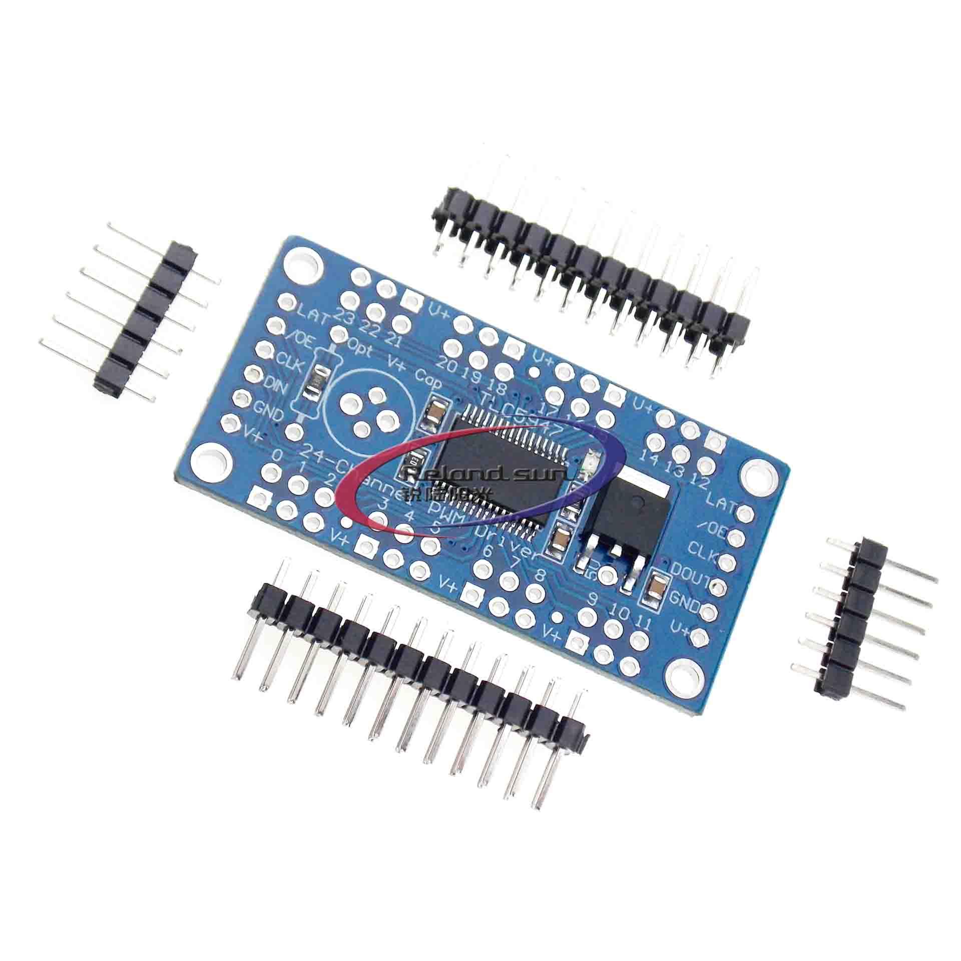 TLC5947 CJMCU-TLC5947 12 bits 24 canaux Module pilote LED PWM Modulation de largeur dimpulsion Module PWM 24 voies