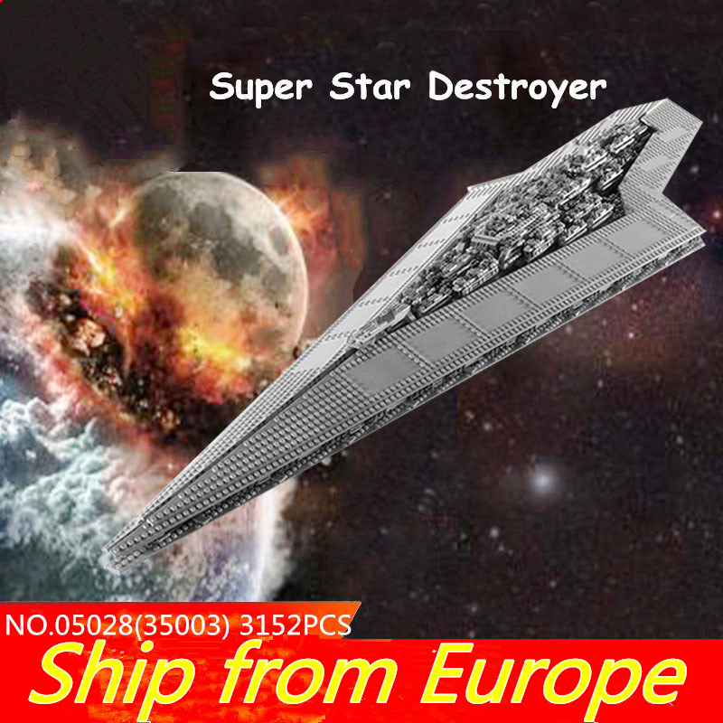 75212 05028 Force Waken UCS super death star figure wars Destroyer Building Blocks Star Plan 10221 10030 Christmas Bricks Toy-in Blocks from Toys & Hobbies