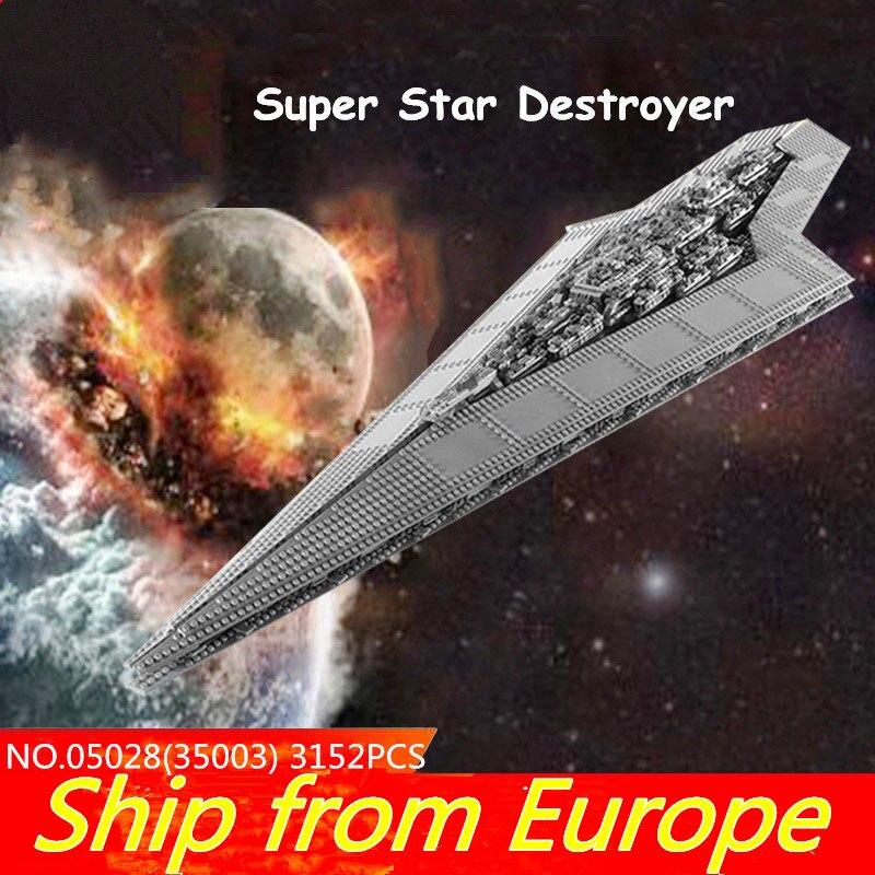 75212 05028 UCS super death star figure wars Execytor Super Star Destroyer Building Blocks Star Plan 10221 10030 Bricks Toy gift-in Blocks from Toys & Hobbies    1