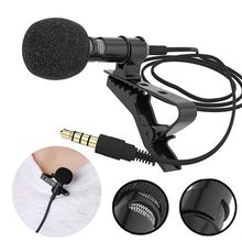 Microphone for Computer-Conference Wired Lapel-Clip Portable External Stage Hands-Free