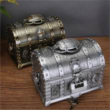Kreative Ägyptischen stil doppel schichten metall schmuck box organizer box metall zinn box jewlery organizer für frauen geschenke